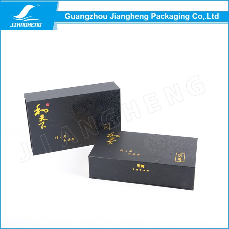 Wholesale custom rigid perfume fragrance empty paper magnet box