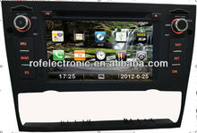 ROFAUDIO car audio video dvd player with gps 3G 6v cdc for BMW E90
