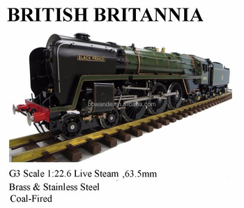 Britannia ,1:22.6 Live Steam Locomotive (Brass made)