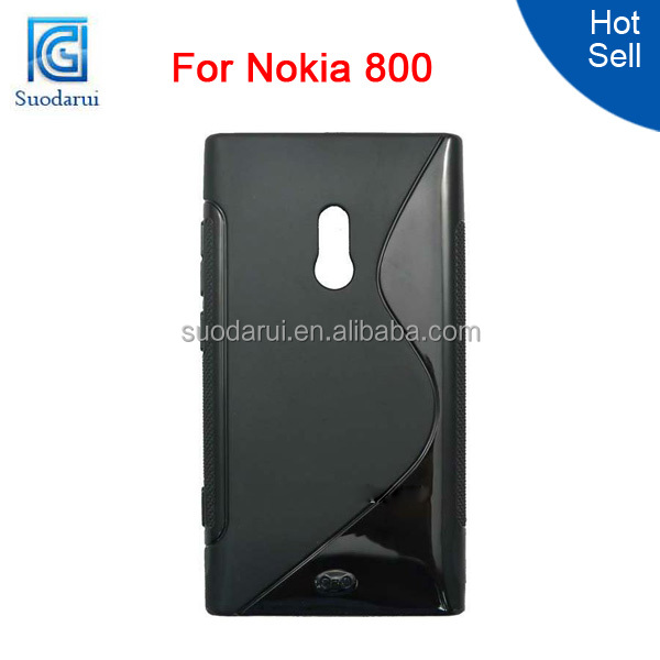 S Line TPU Gel Silicone Case Cover for Nokia Lumia 800 for Nokia Lumia 800 Cover Case