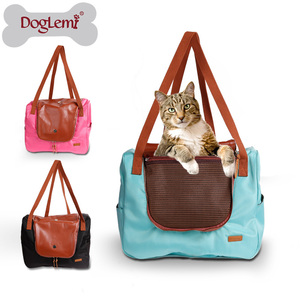 2017 new design Portable Travel Pet Carrier Dog Soft Sided Pet Carrier