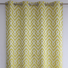 Unique modern curtain style cafe bar square jacquard window curtain