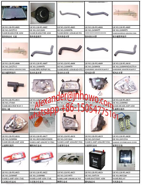 CHEVROLET N300 AUTO PARTS Made In China