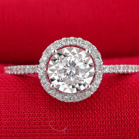 Wholesale CZ Wedding Engagement Ring Jewelry
