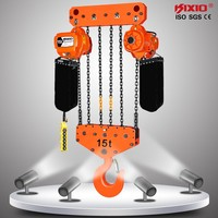 15 Ton KITO electric chain hoist with hook