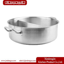 HPP1808 Professional Use Stainless steel Pot Divided into Sudoku Steamboat Induction Cooker Available