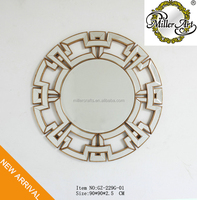 GZ-229G-01 Round shape wall mirror for home decor