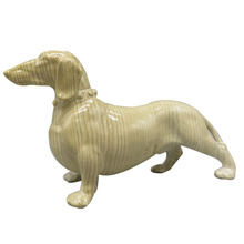 resin craft dog statue for home decor
