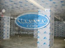 P244 Round Isothermal Container With Stainless Steel Inner Tank in cold room panel