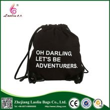 China manufacturer good quality customized colors eco polyester drawstring bags