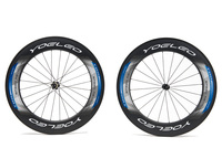 SAT Road Carbon Clincher Wheels 88mm,Straight Pull Ceramic Bearing Sapim Cx-Ray Spokes