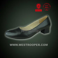 Ladies Officer Shoes Army Leather Shoes