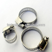 Adjustable pipe clamp american type hose tube clamp for threaded rod