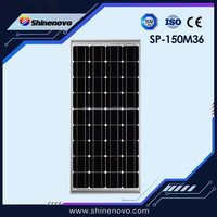 Top Sell Good Quality mono 150w 12v solar panel