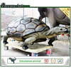 Outdoor playground sculpture fiberglass life size animal statues