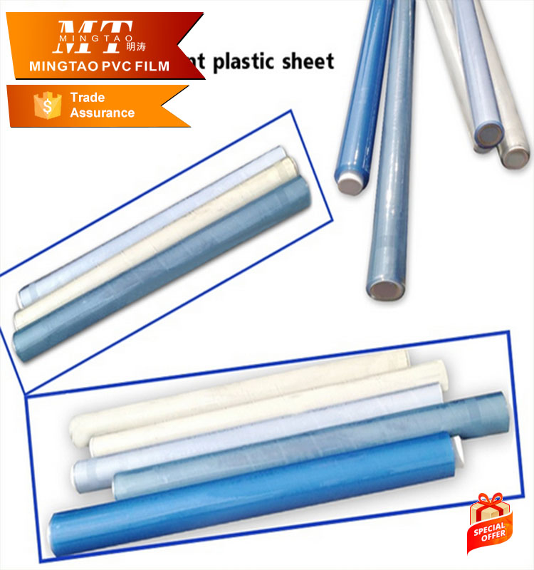 factory price of higher clear and good quality soft pvc transparent sheet for mattress package