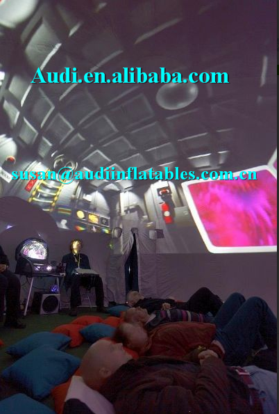 new portable mobile planetarium dome tent inflatable cinema planetarium dome,projection system