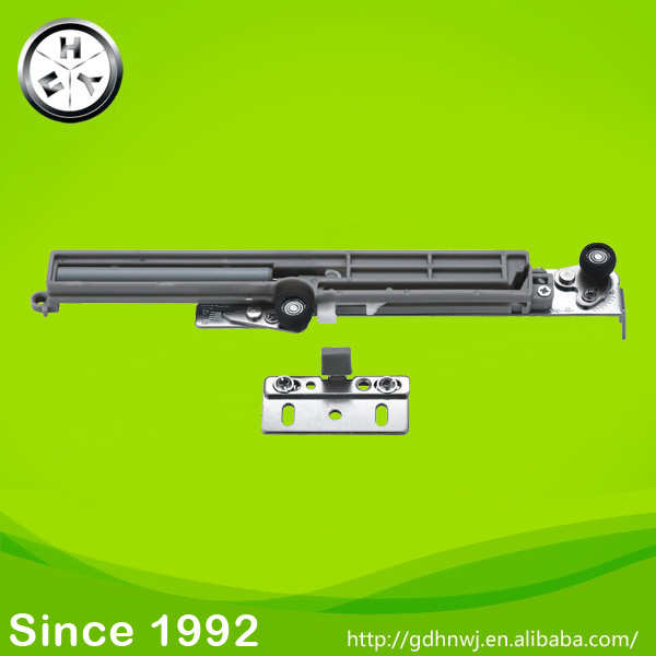 Interior kitchen silent sliding door roller soft close hanging sliding door roller