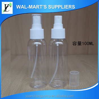 pet preform bottle 100ml water sprayer , water mist sprayer