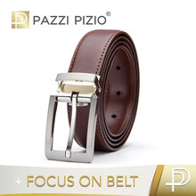 High quality dark brown men genuine leather belts for jeans