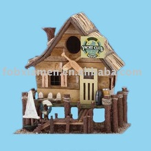 Home decorative resin birdhouse