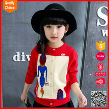 New fashion design knitted customized pullover wool sweaters for kids