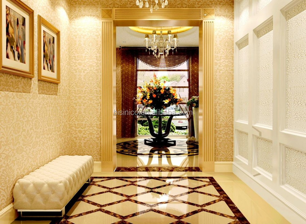 Detail Architeture Design For Villa Foyer and Reception Hall with Furnishing