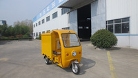 three wheel electric motorcycle for cargo delivery
