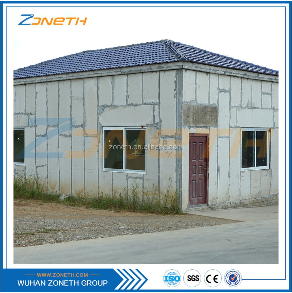 100% Gree asbestos free EPS cement sandwich wall panel with calcium silicate board for face sheet