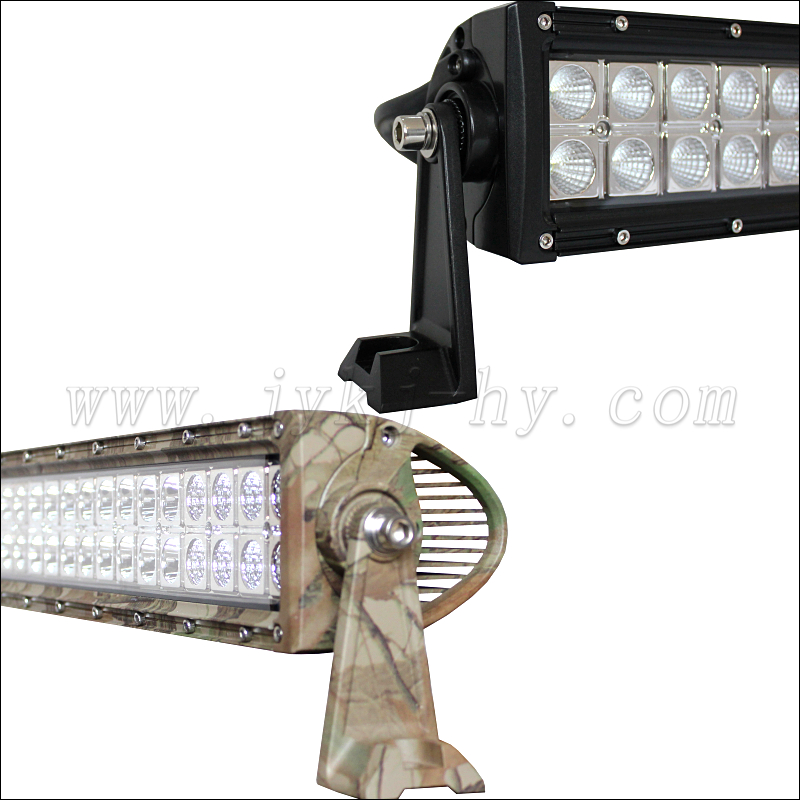 JY-5072 Camouflage aluminum profile <strong>13</strong> inch 72w led offroad light bar