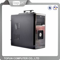 Factory price direct atx computer case with handle/ gaming best computer case with logo