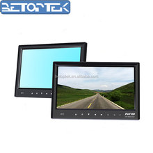 7 Inch Rearview Mirror 1080p Car Computer Led Small Size Pc Lcd Monitor With HDMI AV Input