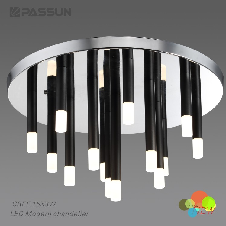 CREEchip 45w aluminium led chandelier light