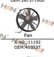 Putzmeister fan OEM 409337 a joint venture electronic radiator fan concrete pump spare parts