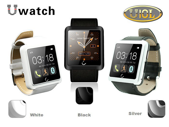 china <strong>u10</strong> smart watch phone 2015 with 1.54'' touch display