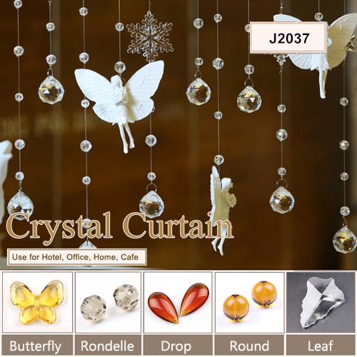 wholesale handmade crystal beaded decorative living room curtains