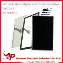 Original LCD & Digitizer Replacement For Samsung Galaxy Tab 2 10.1 P5100 P5110