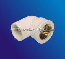 pvc pipe fitting female thread reducing tee
