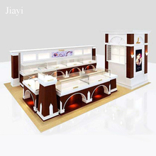 Luxury jewelry booth for shopping mall center display furnitures design
