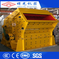 Portable type series road construction equipment,impact crusher