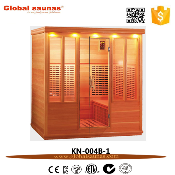 hot sale 4 person hot sauna room KN-004B-1