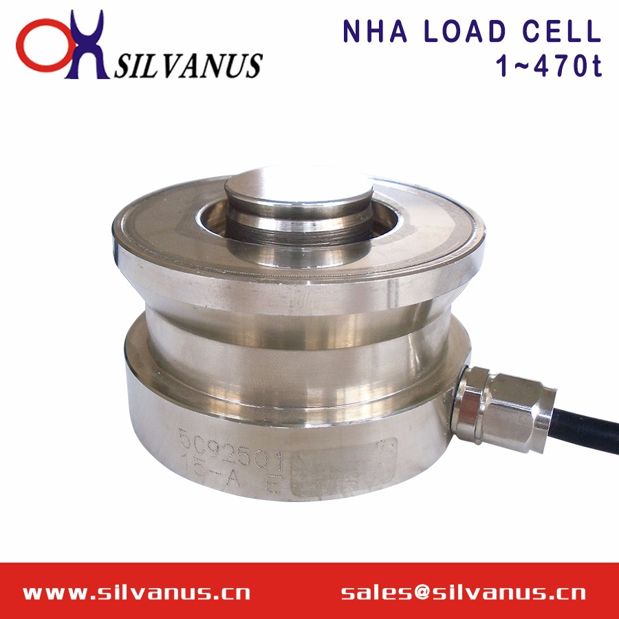 Stainless Steel Ring Torsion Type Load Cell Hopper Scale Weight Sensor (NHA)(1~470t)