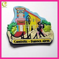 eco-friendly popular colorful silicone/pvc shanghai souvenir fridge magnet,fridge magnet in custom design