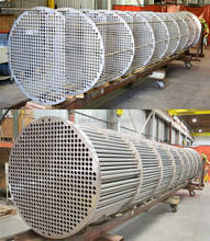 Stainless steel,Titanium, Nickel alloy made heat exchanger tube bundle