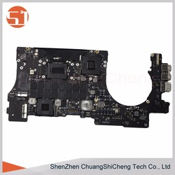 Original Laptop Logic Board A1398 Mid 2012 Core i7-3740QM 2.7Ghz 16GB 820-3332-A Motherboard for Apple Macbook Pro 15.4 inch