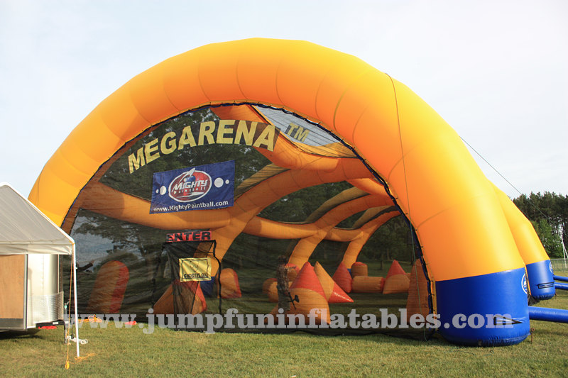 Large Mega Arena inflatable tent customize for Paintball Tent
