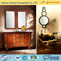 Antique American Style Carved Bathroom Furniture,Custom Wooden Bathroom