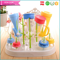 Baby care products bpa free durable plastic feeding bottle holder for kids