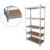 Medium duty warehouse storage rack shelves system for heavy goods