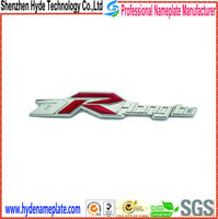 die casting ABS sticker with names custom emblem for car
